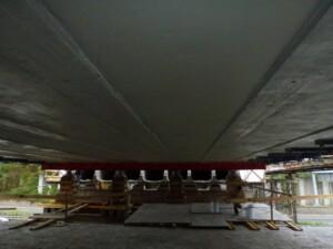 Sanace mostní konstrukce dokončení