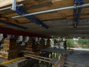 Sanace mostní konstrukce