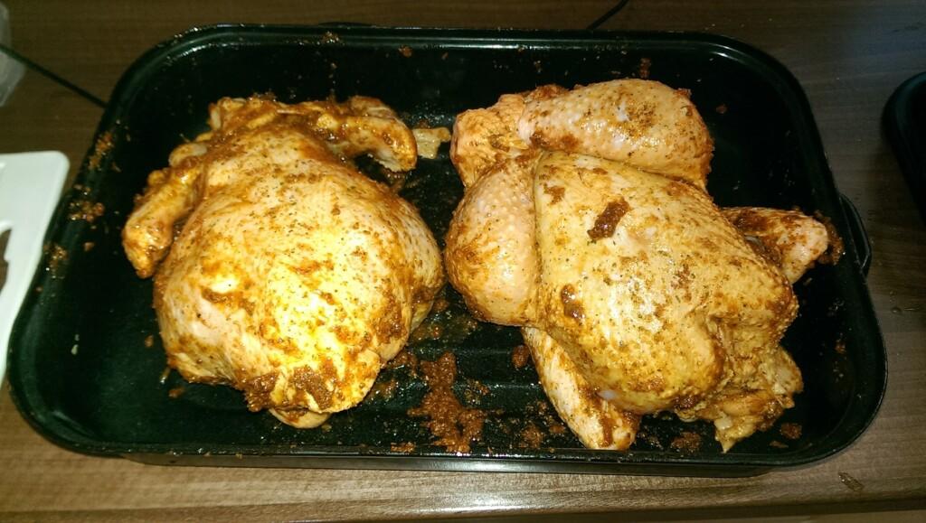 naložené kuře