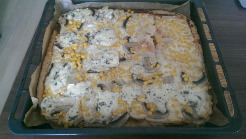 Pizza domácí špaldová