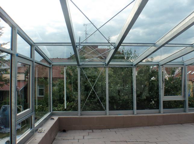 Moderní kovová zimní zahrada- Abev s.r.o.