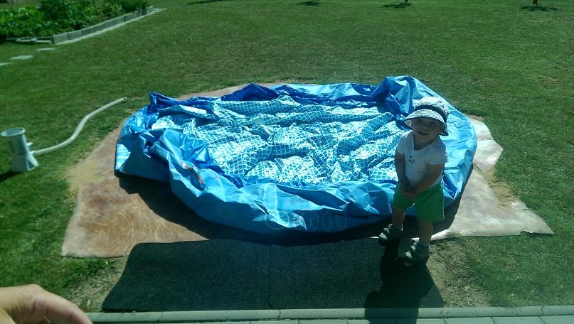 Roztažení bazénu