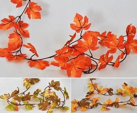 Listy dekorace