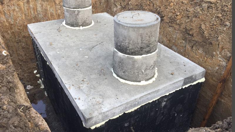 Betonová jímka