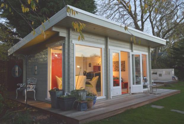 Zahradní domek Heidi 19,7 m²