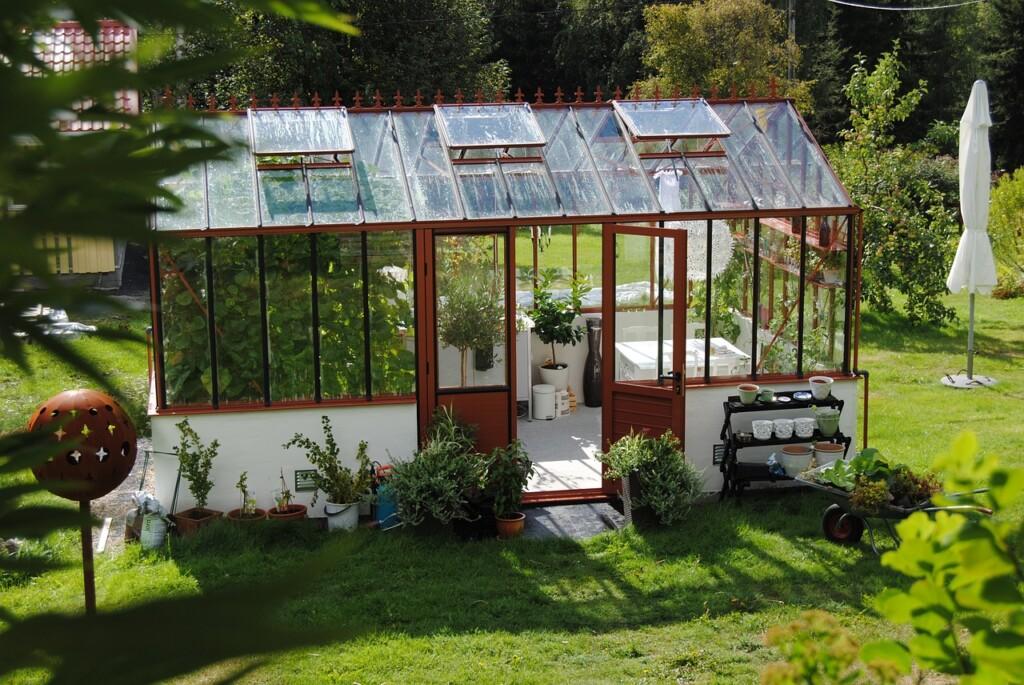 Skleněný skleník