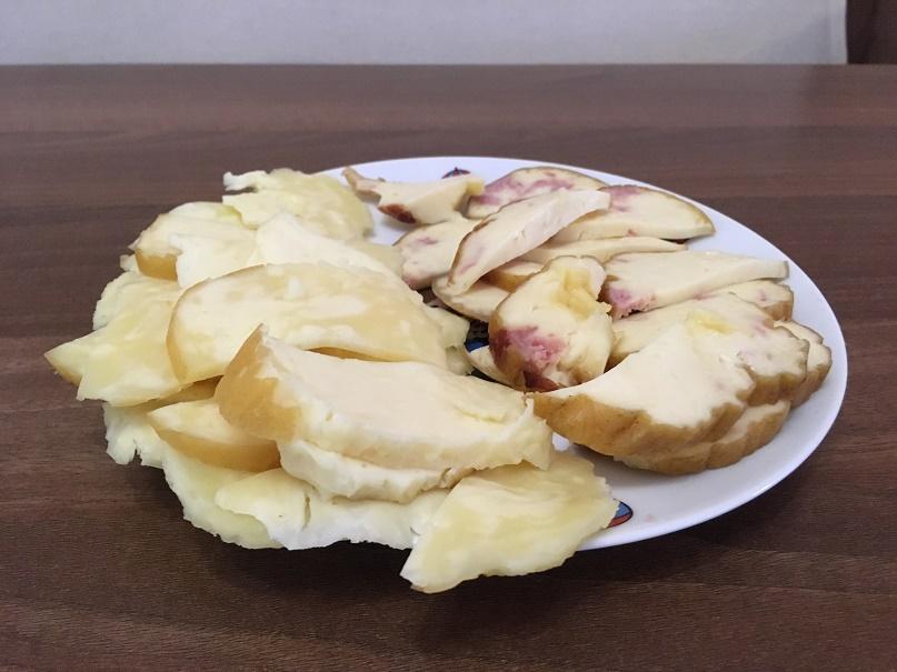 Uzený sýr