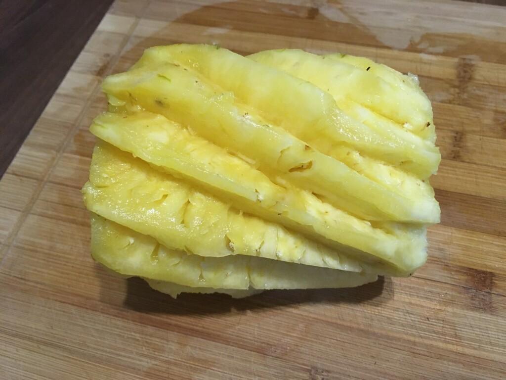 Okrájený ananas