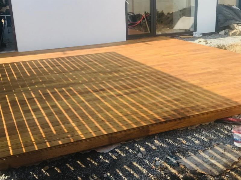 Dřevěná terasa