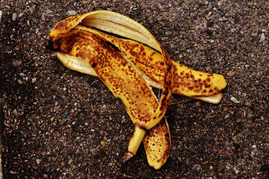 Banánové slupky