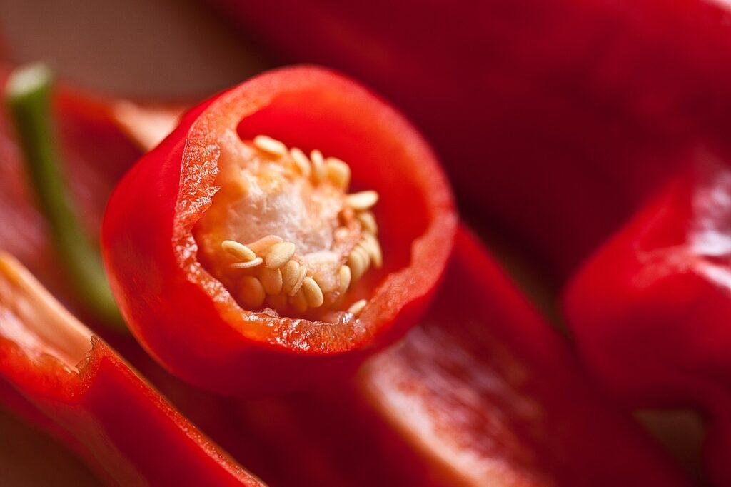 Řez papriky