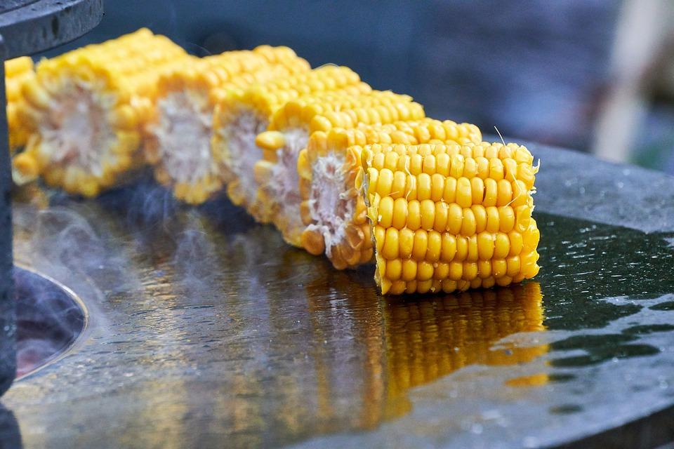 Grilování kukuřice