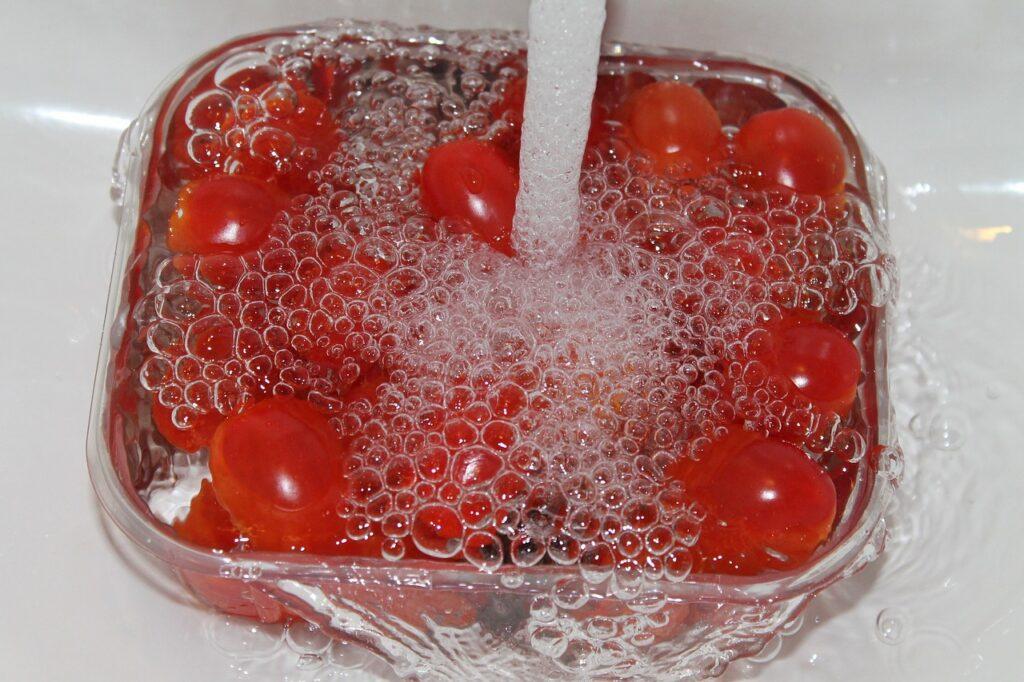 Rajčata ve vodě