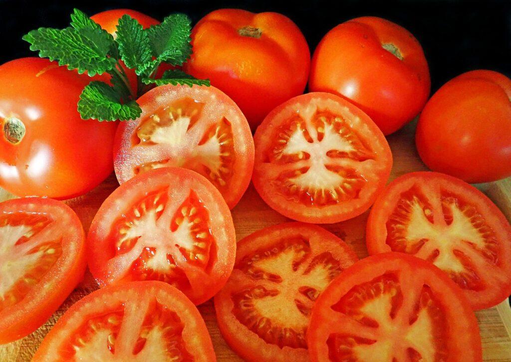 Nakrájená rajčata