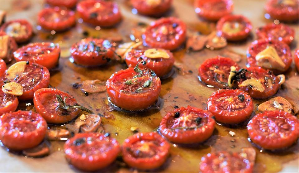 Sušení rajčat